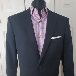 ZARA Man Navy Blue Blazer Size 40